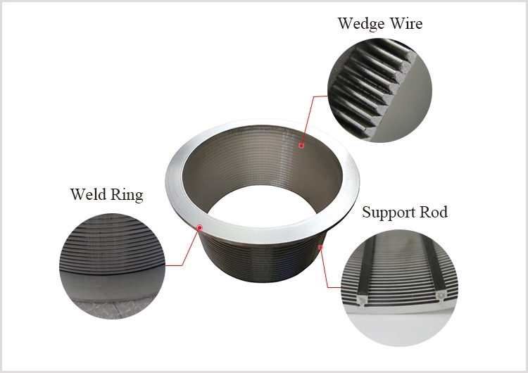 Fine Slotted SS Wedge Wire Baskets