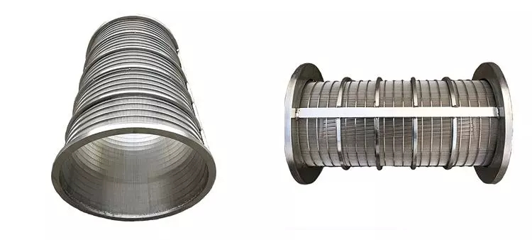 Rotating Wedge Wire Juice Cylinder