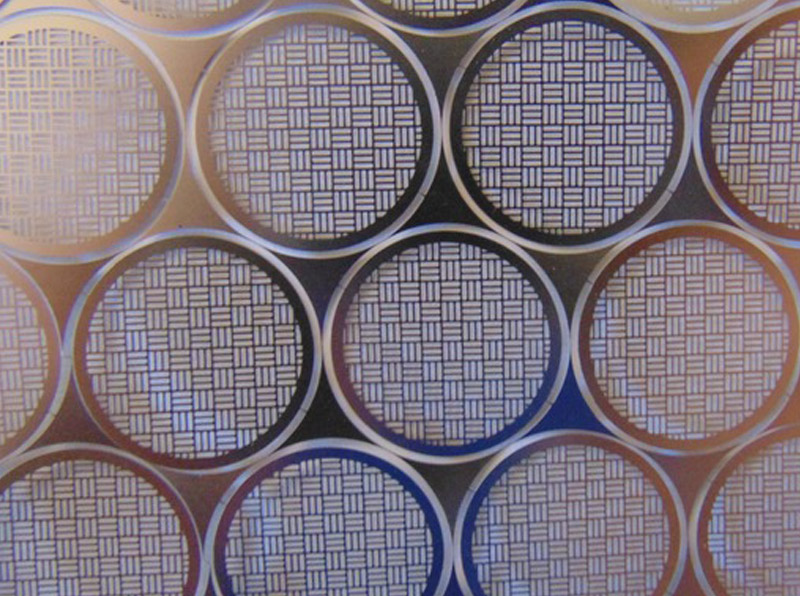 Lead Frame High Precision Stainless Steel Photo Chemical Etching Mesh Screen