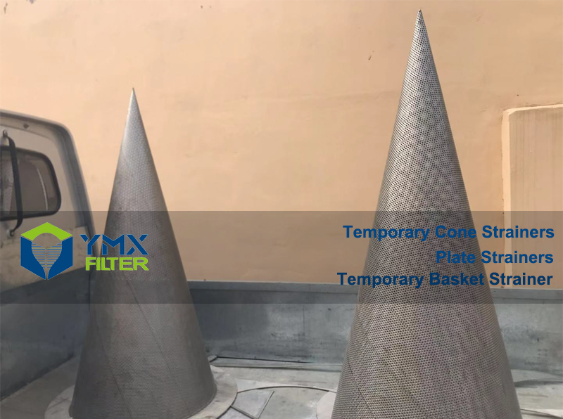 SS316 SS 316 Cone Strainer DN 600 mm Class 300