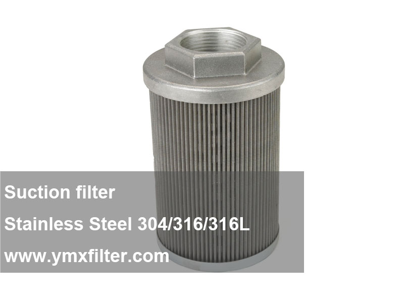 Steel Male Fitting Suction Strainers