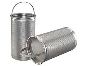 Perforated Filter Basket Strainer