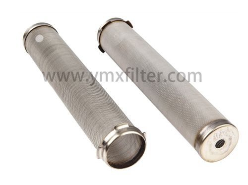 Stainless Steel Metal Filter Tube