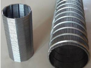 Wedge Wire Sieve Bend Screen