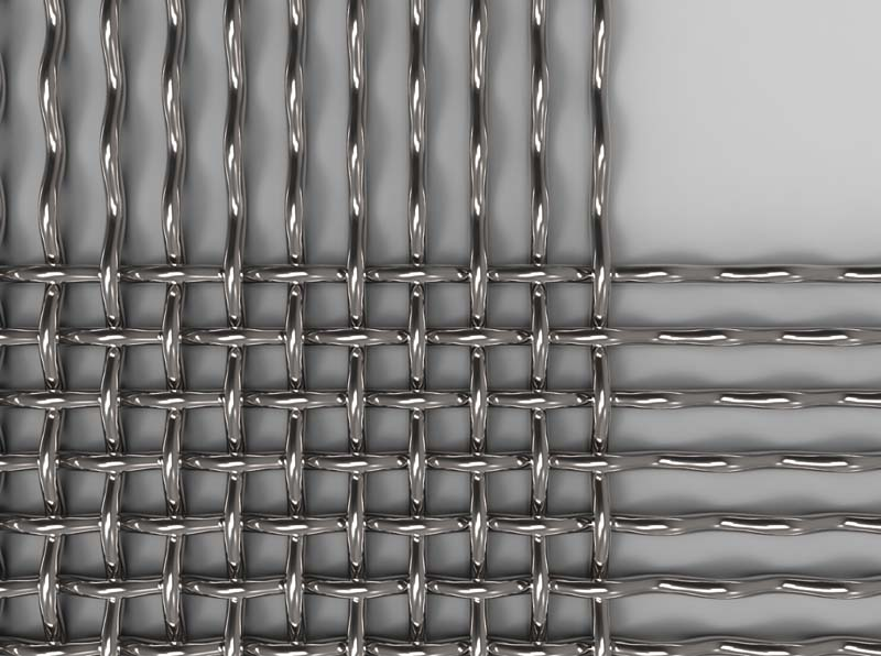 Stainless Steel Crimp Woven Cloth