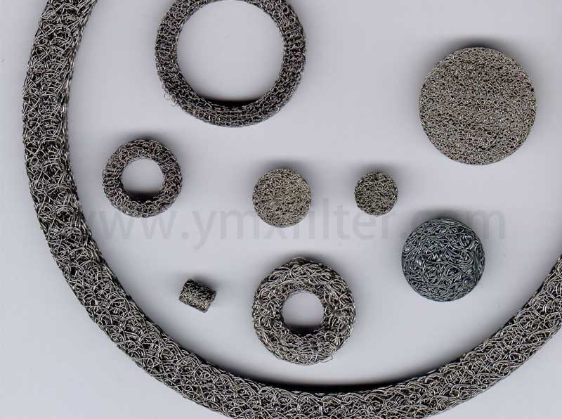 Compressed Knitted Wire Mesh Filters