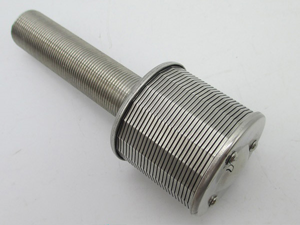 Wedge Wire Media Retention Filter Nozzle