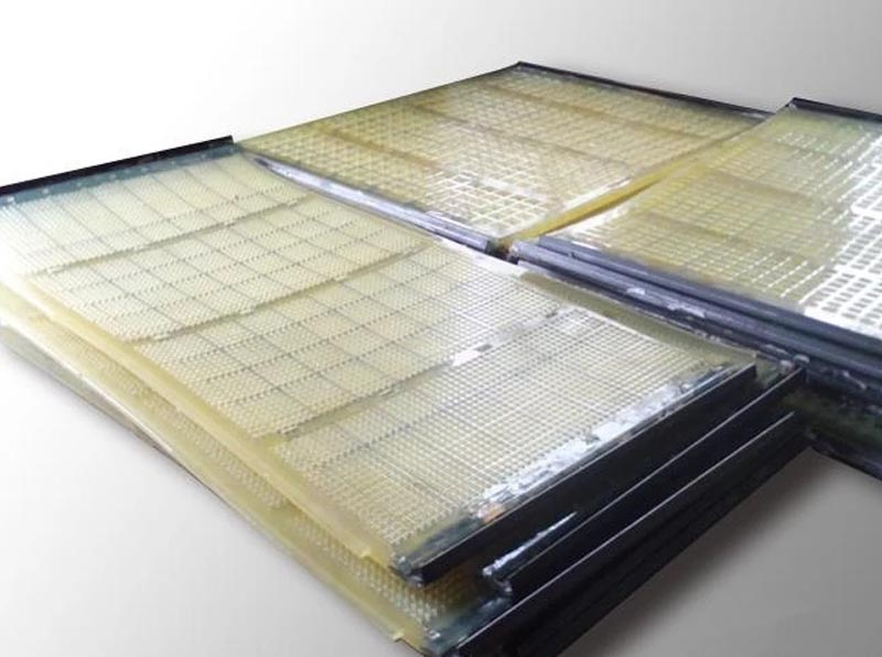 Polyurethane Vibrating Screen with Steel Cable