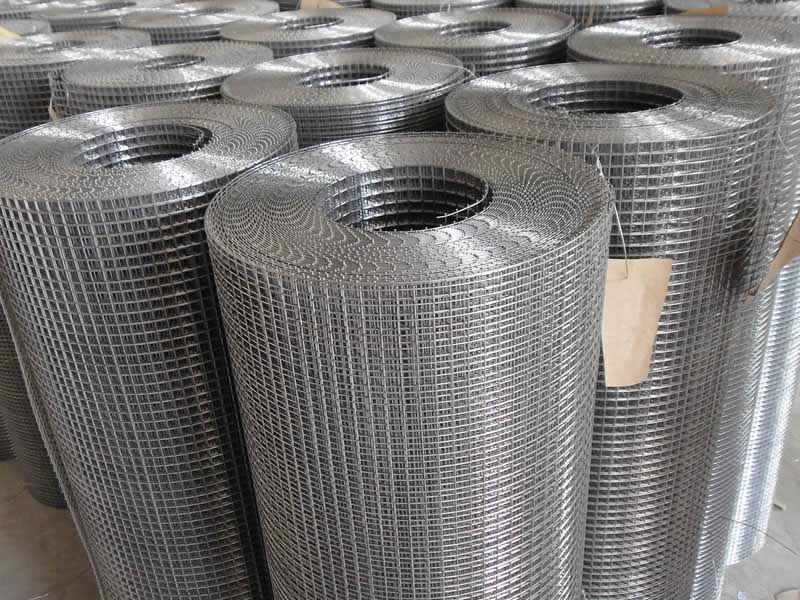 Stainless Steel Welded Mesh in Rolls