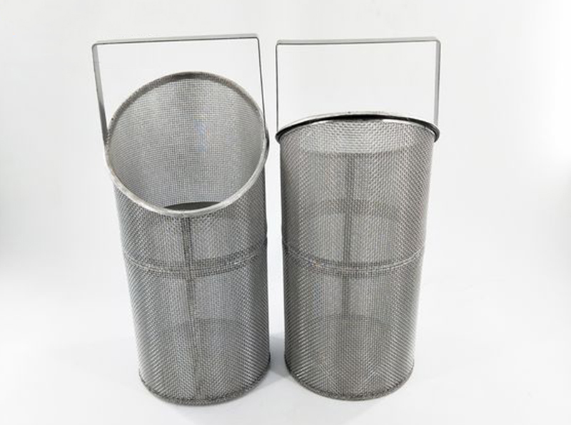 Perforated Metal Filter Basket Strainer