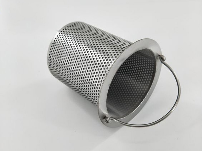 Perforated Filter Basket Strainer