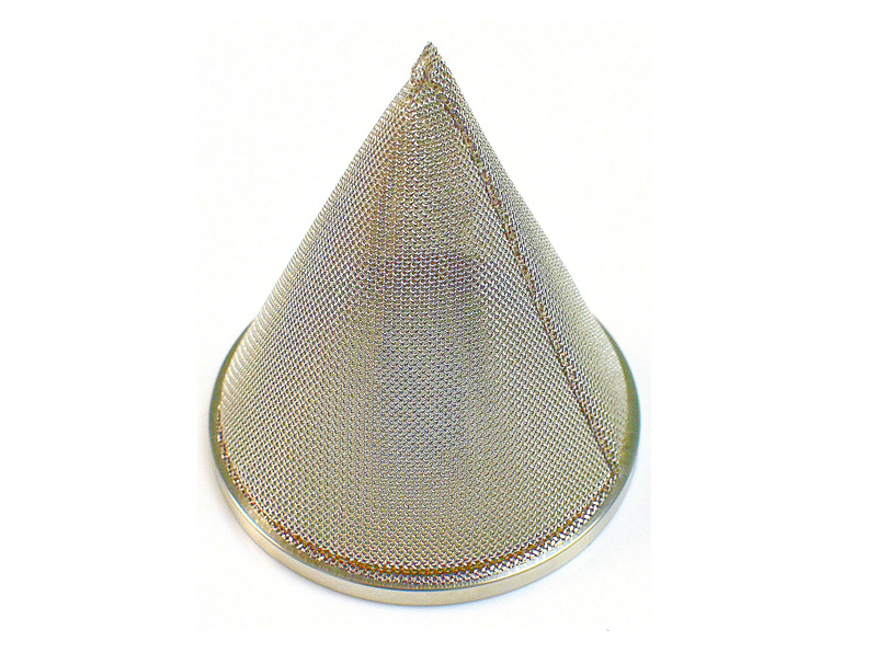 Cone Shaped Wire Mesh Filter Strainer