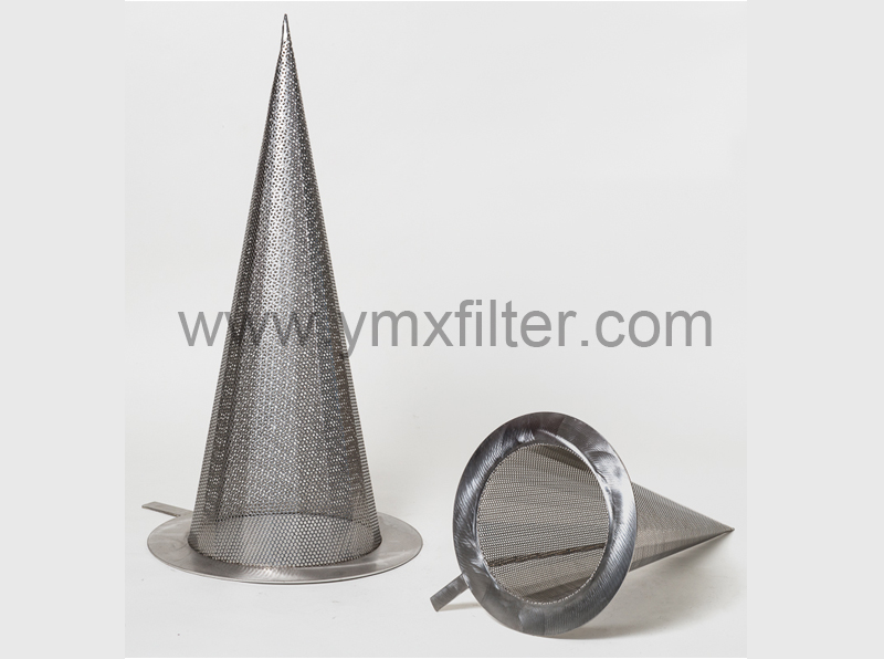 Fabricated Temporary Pipeline Cone Strainers