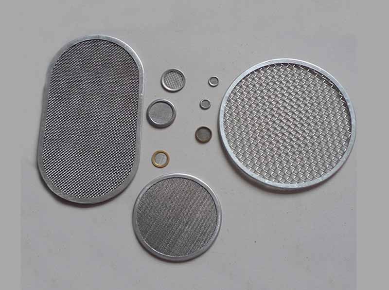 Stainless Steel Frame Filter Disc Pack