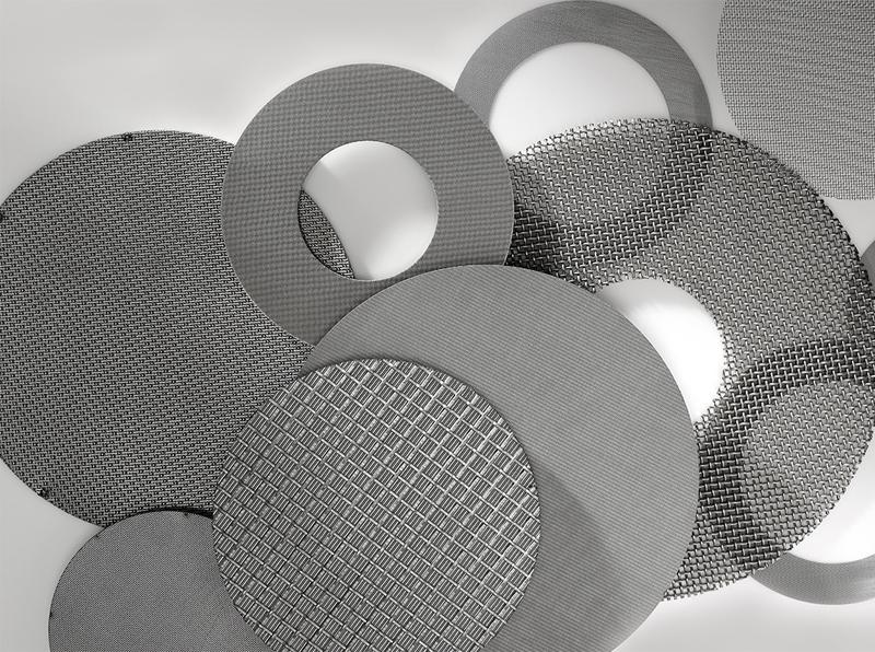Micron SS Filter Mesh Porous Disc Filter
