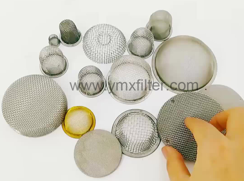Stamped Wire Mesh Filters
