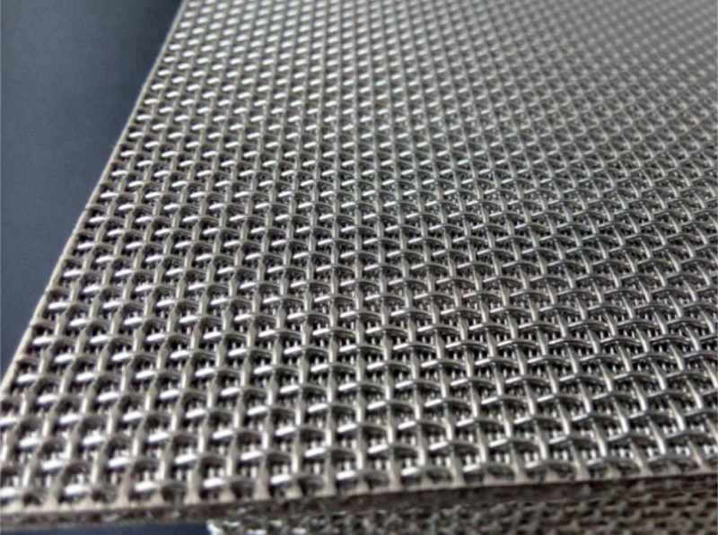 Multi-Layer Sintered Mesh Laminate