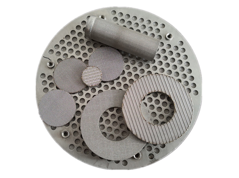 Multi-layered Sintered Filter Disc