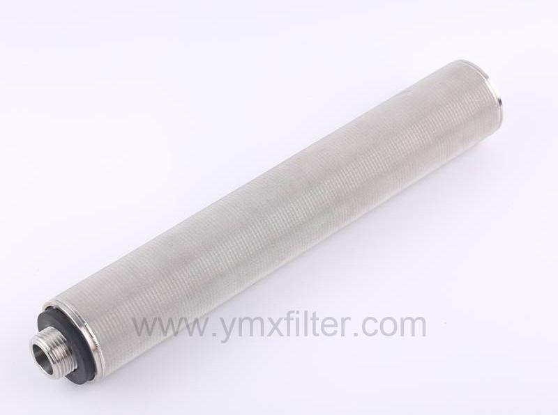 Grommet type seal sintered cartridge