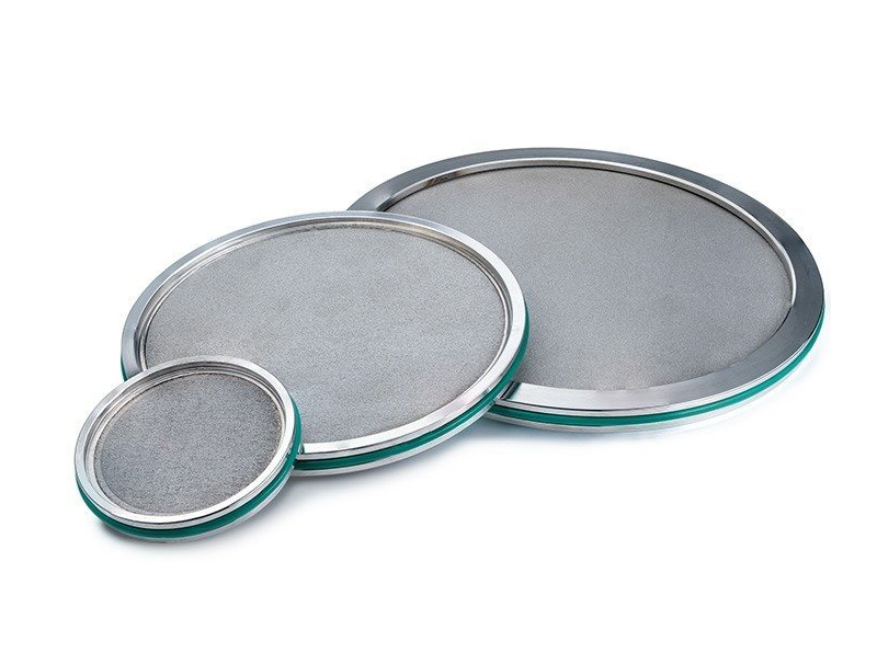 10 Micron Stainless Steel Sintered Filter Disc