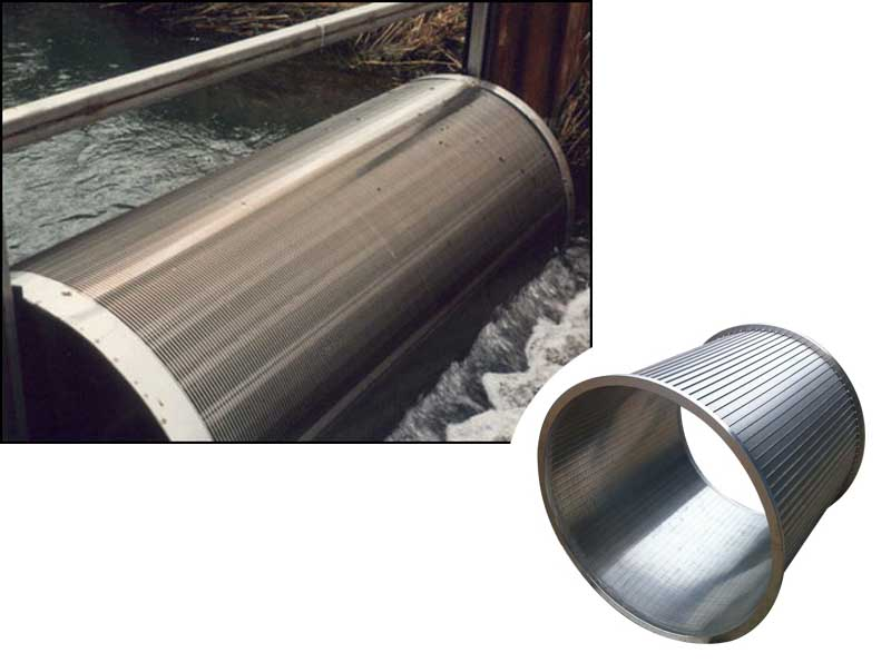 Rotary Wedge Wire Drum Screen