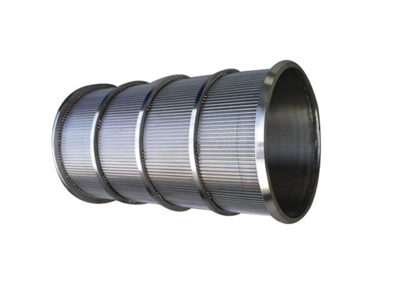 Rotating Wedge Wire Cylinder