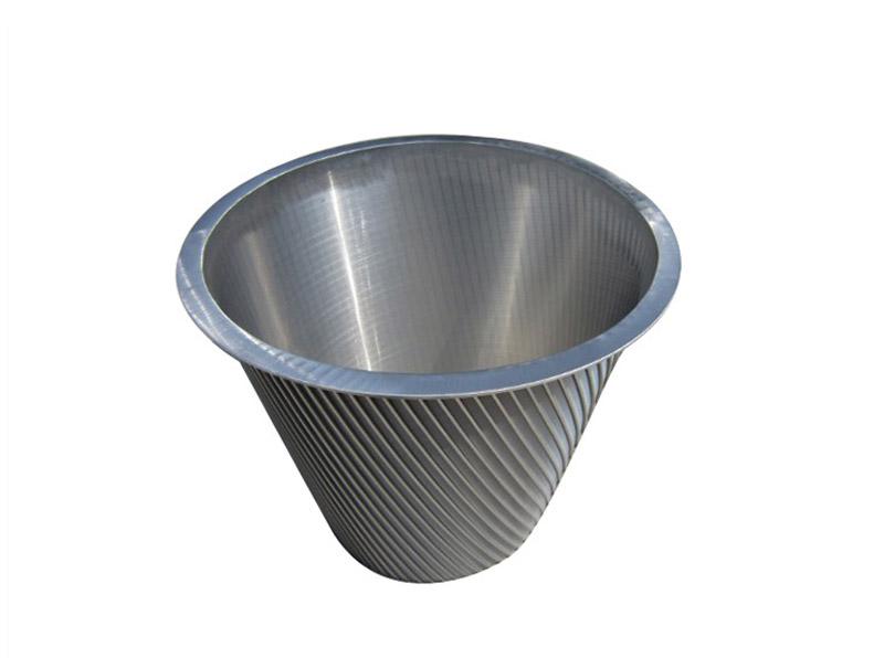 Wedge Wire Centrifuge Baskets