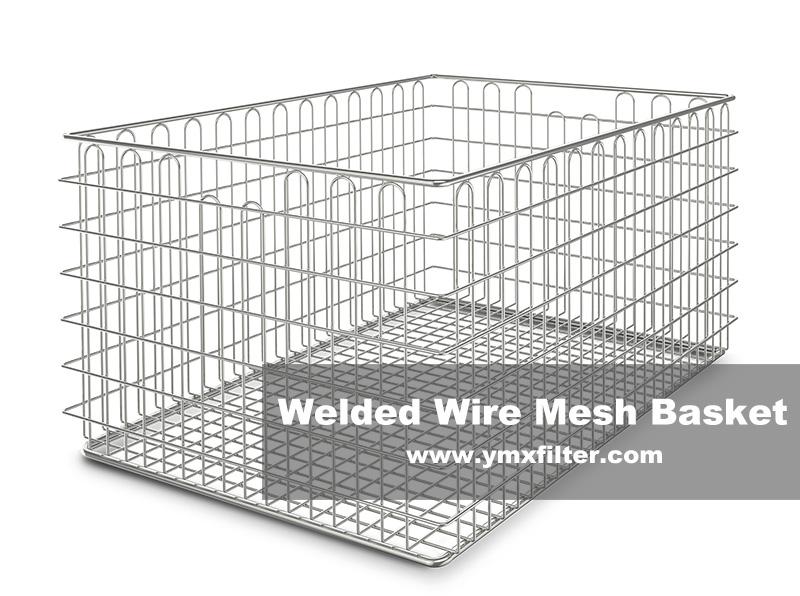 Welded Wire Mesh Baskets