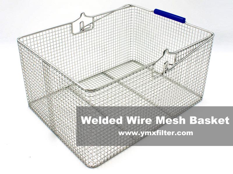 Welded Wire Mesh Transport Baskets