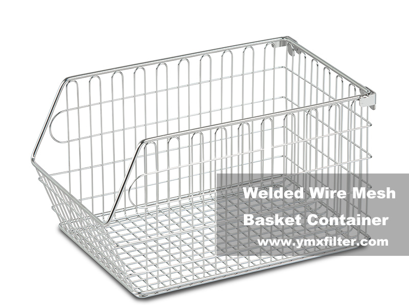 Welded Wire Mesh Basket Container