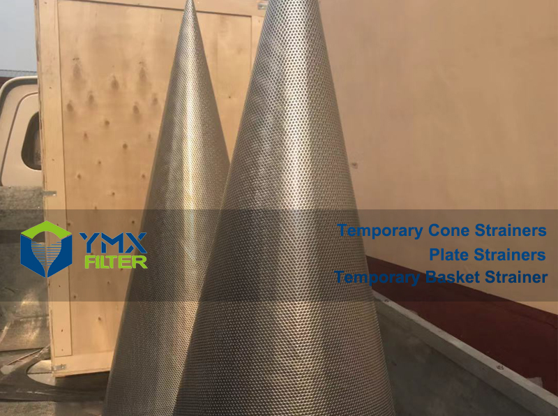 SS 316 Cone Strainer DN 600 mm Class 300
