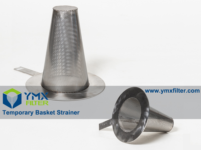 304 Temporary Basket Strainer