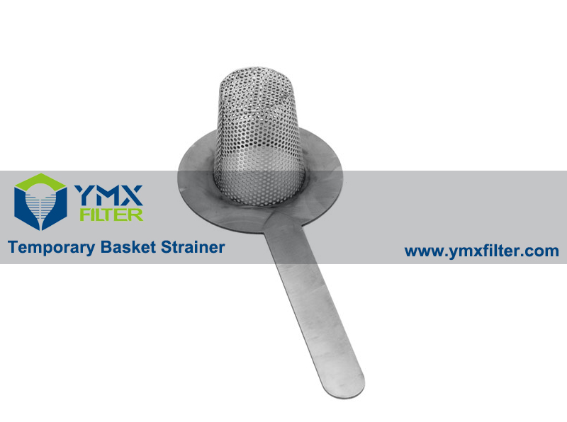 Perforated Temporary Basket Strainer