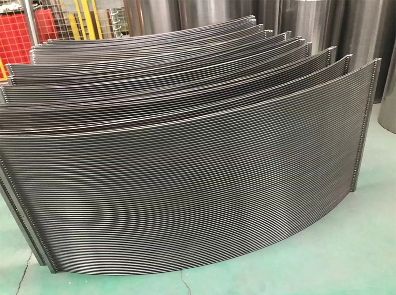 Pressure Arc Sieve for Starch